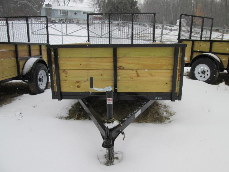 6x10 GoldStar High Side Utility Trailer