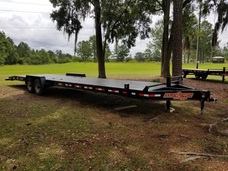 2018 Down 2 Earth Trailers(OLIVE GREEN) DTE8214UGA(SIDE GATE) Utility Trailer