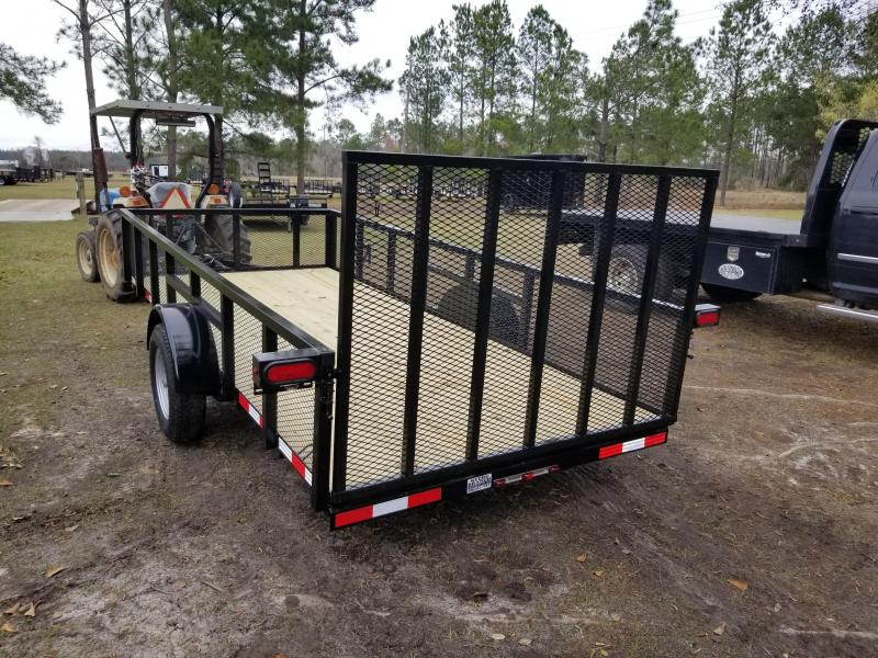 2019 Down 2 Earth Trailers DTE614UG (6'X14')(HIGH SIDE) Utility Trailer