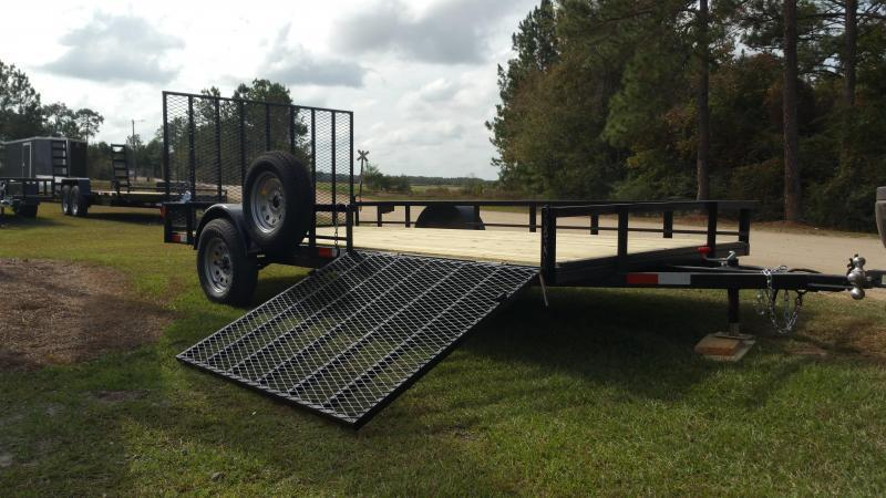 """2018 Down 2 Earth Trailers DTE7612G29 (76""""X12') Utility Trailer"""