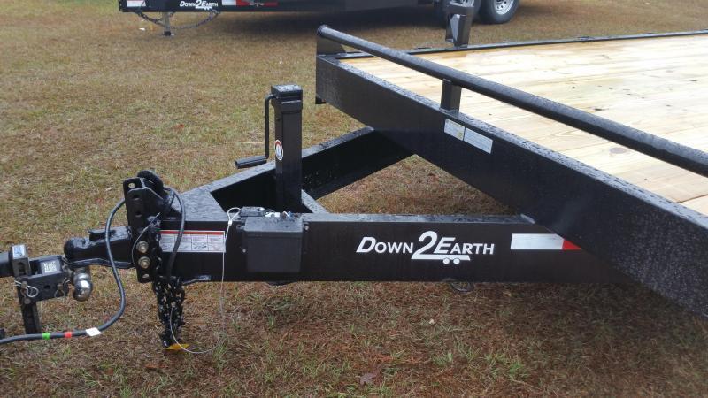 2019 ( Down 2 Earth Trailers (14000LB) DTE8224ER7B Equipment Trailer