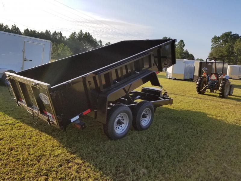 2019 6x12-5200lb Down 2 Earth Dump Trailer