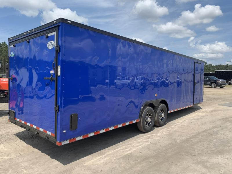 New 7x16 Enclosed Cargo Trailer (Reedy Branch Equipment) Over 100 Trailers in Stock!