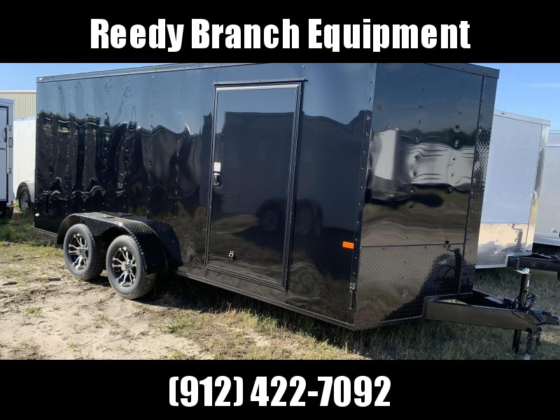 New 7x16 Enclosed Cargo Trailer (Reedy Branch Equipment) Over 100 Trailers in Stock!  in Ashburn, VA