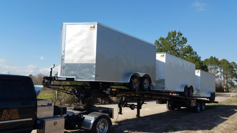 New 6x12TA Enclosed Trailer Rock Solid Cargo