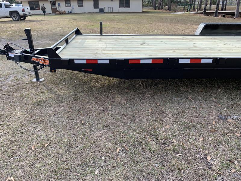2019 Down 2 Earth (10000LB) DTE8222ER5.2B Equipment Trailer