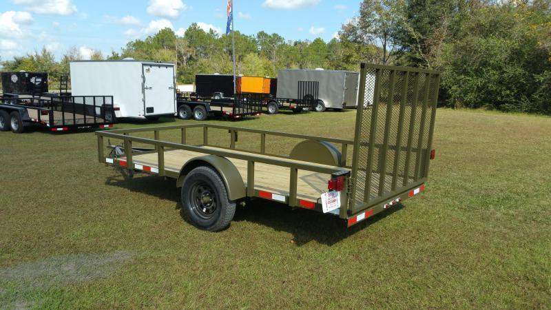 2018 Down 2 Earth Trailers DTE612G29 DOVETAIL Utility Trailer