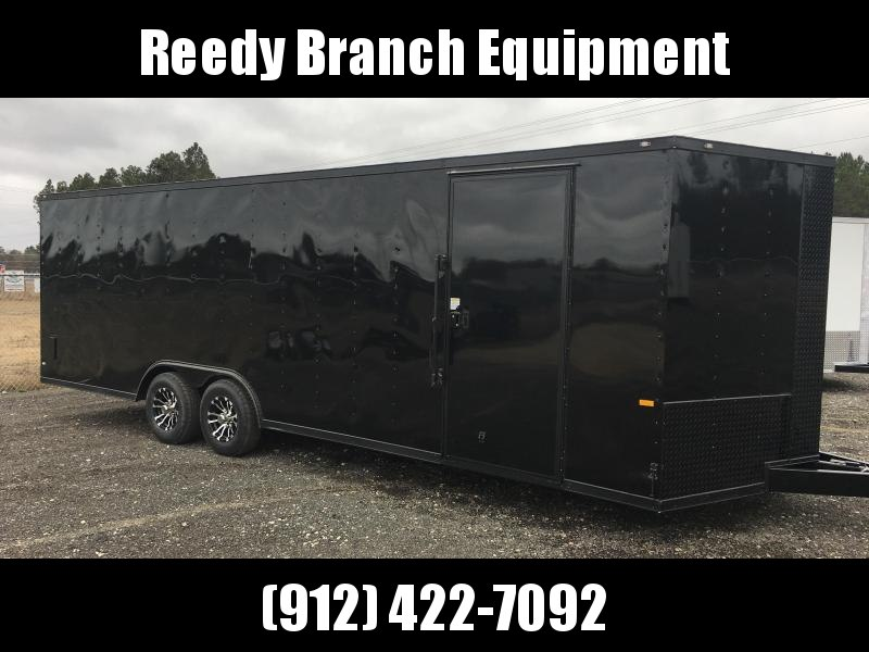 New 8.5x24 Blackout Elite (5200lb) Enclosed Car Hauler  in Millwood, GA