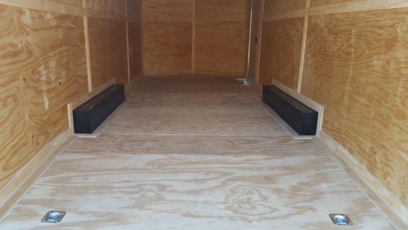 New 8.5x16 Enclosed Trailer Rock Solid Cargo