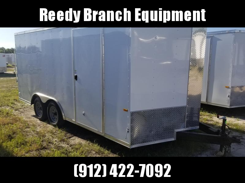New 8.5x16 Enclosed Trailer Rock Solid Cargo  in Millwood, GA