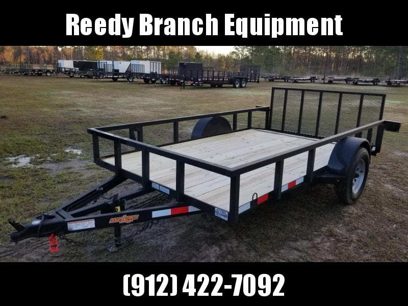 """2019 Down 2 Earth Trailers DTE7612G29 (76""""X12')Dovetail Utility Trailer"""