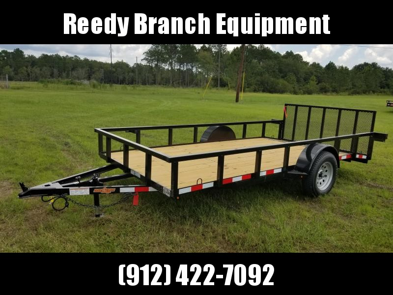"2019 Down 2 Earth Trailers DTE7612G29 (76""X12')Dovetail Utility Trailer"