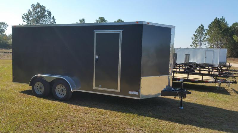 2019 ROCK SOLID CARGO(BLACK-OUT) 6X12SA-3500LB Enclosed Cargo Trailer