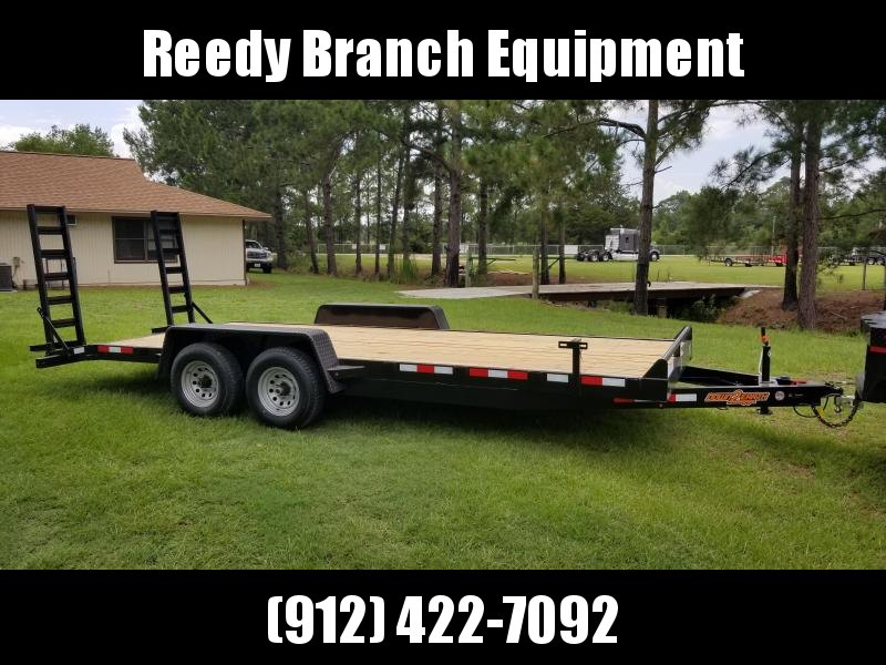 2019 Down 2 Earth (10000LB) DTE8220ER5.2B Equipment Trailer