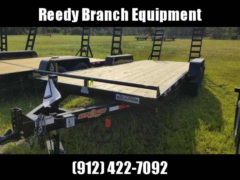 2018 Down 2 Earth Trailers DTE8220ER7B (14000LB) Equipment Trailer in Ashburn, VA