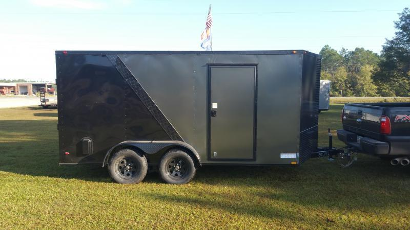 2018 Down 2 Earth Trailers DTE612G29 (OLIVE GREEN) DOVETAIL Utility Trailer