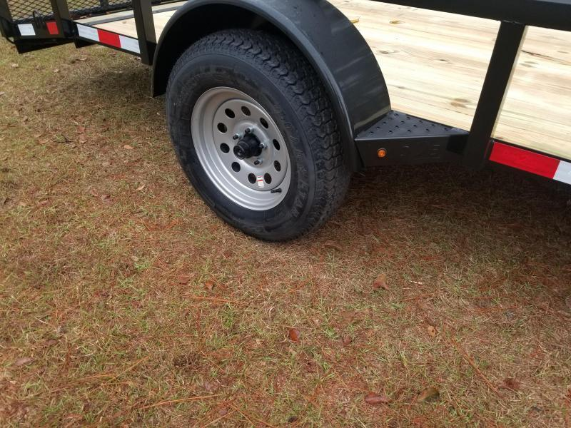 2018 Down 2 Earth Trailers DTE614G29 DOVETAIL Utility Trailer