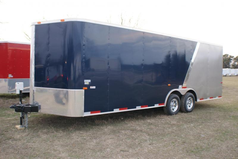 2018 ROCK SOLID CARGO(8.5X20 BLACKOUT EDITION) 3500# TANDEM AXLE Enclosed Cargo Trailer