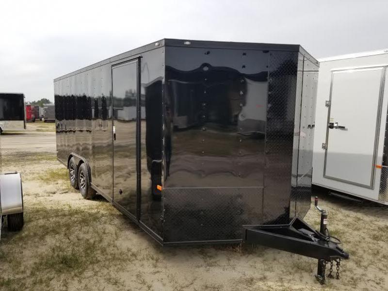 8.5x20 Blackout Elite Enclosed Car Hauler Rock Solid Cargo
