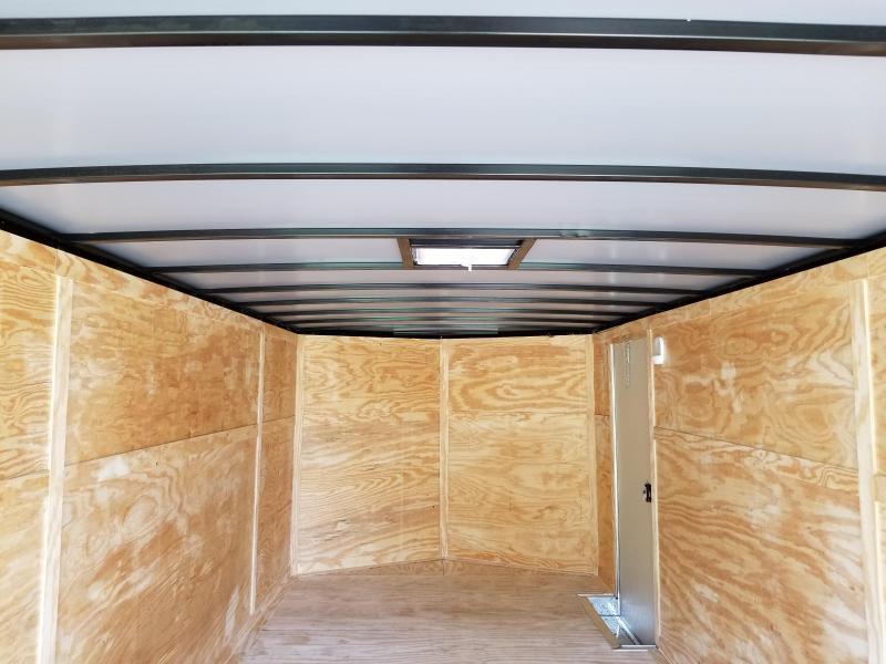 New 8.5x20 3500lb Enclosed Car Hauler Rock Solid Cargo