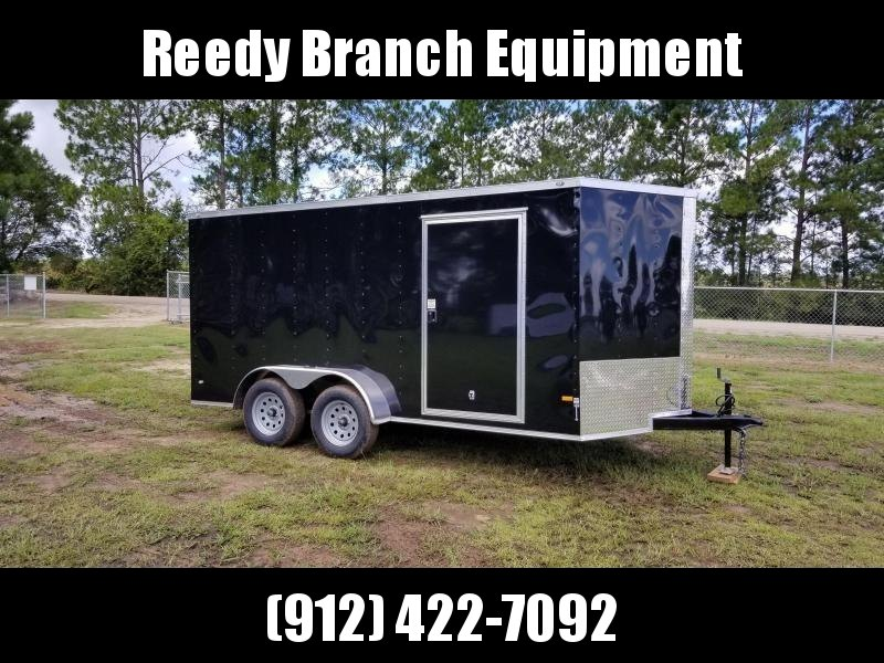 2019 ROCK SOLID CARGO (BLACK) 7x14TA Enclosed CargoTrailer in Millwood, GA