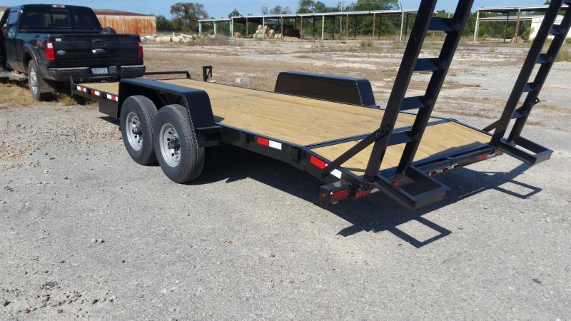 2018 ROCK SOLID CARGO(CARHAULER) (BLACK) 8.5x24 CH-5200lb Enclosed Cargo Trailer