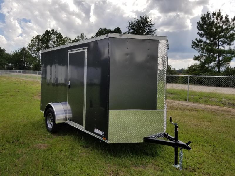 2019 ROCK SOLID CARGO  7X16TA2 (BLACK)(6.3FT)Enclosed Cargo Trailer