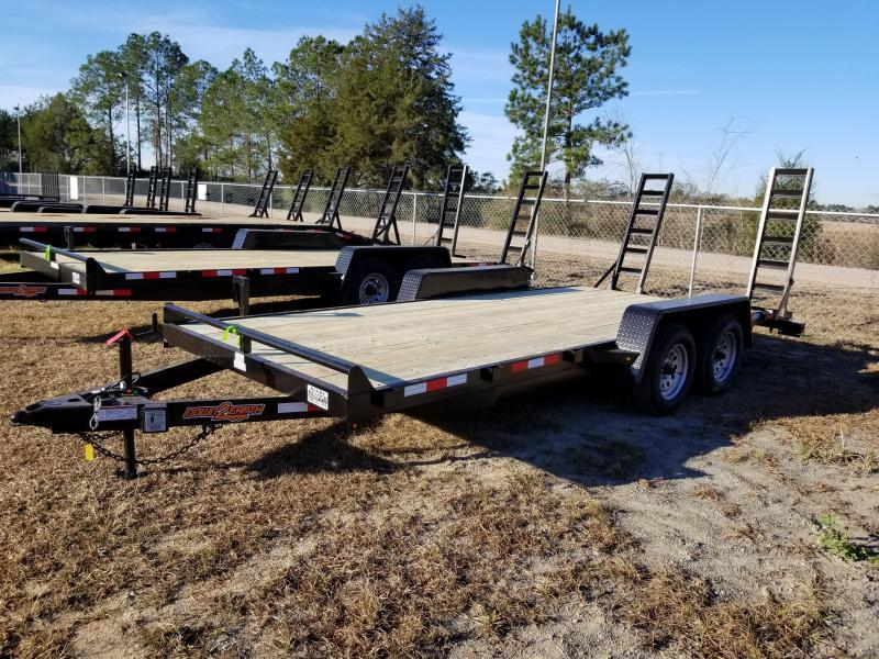 2018 Down 2 Earth Trailers DTE8214UGA (OLIVE GREEN) Utility Trailer
