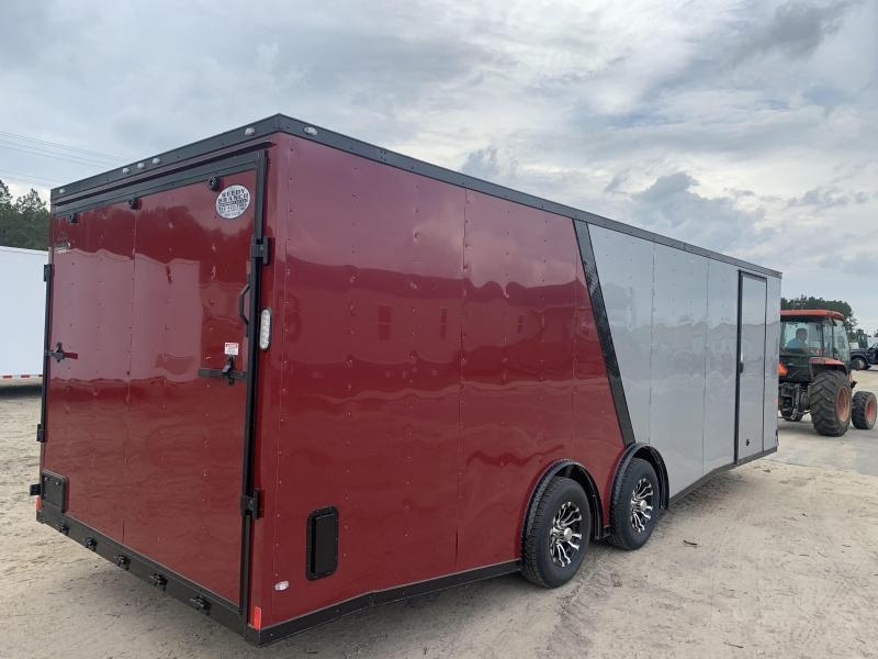 Upgrade to Spread Axle Enclosed Cargo Trailer $350