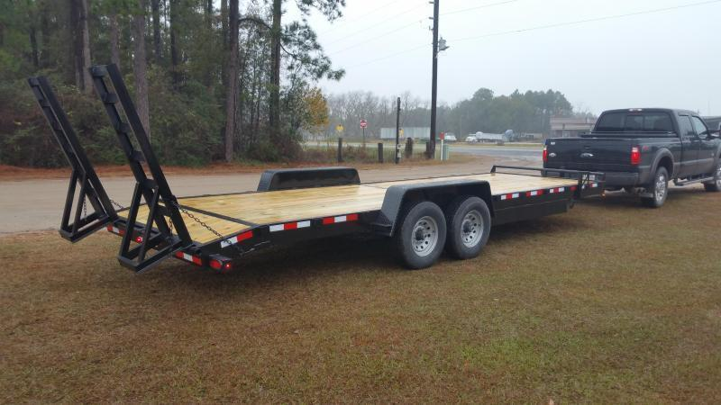 2018 Down 2 Earth (10000LB) DTE8220ER5.2B Equipment Trailer