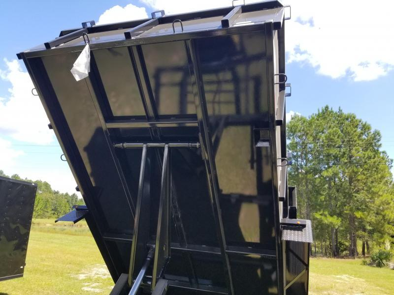 2019  Down to Earth 7'x14' Heavy Duty Commercial Dump Trailer(Scissor Lift