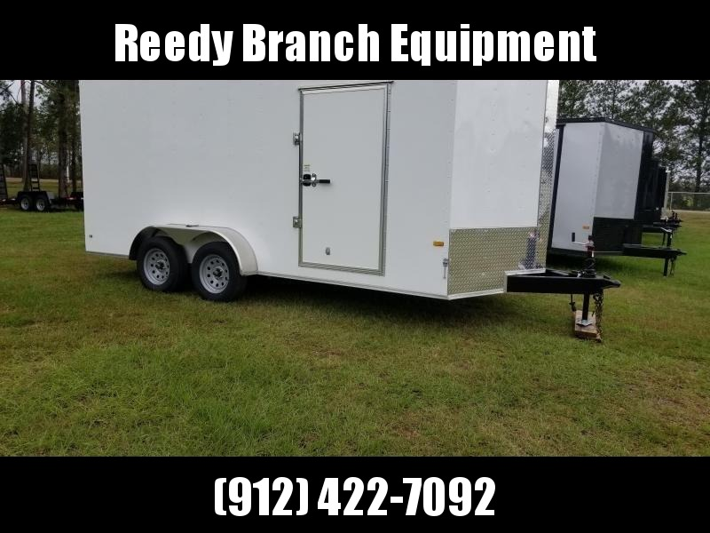 2019 ROCK SOLID CARGO (7 FT HEIGHT) 7X16TA2 Enclosed Cargo Trailer