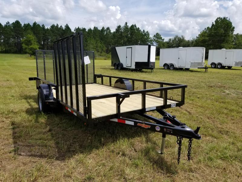 2018 Down 2 Earth Trailers DTE8214UGA(SIDE GATE) Utility Trailer