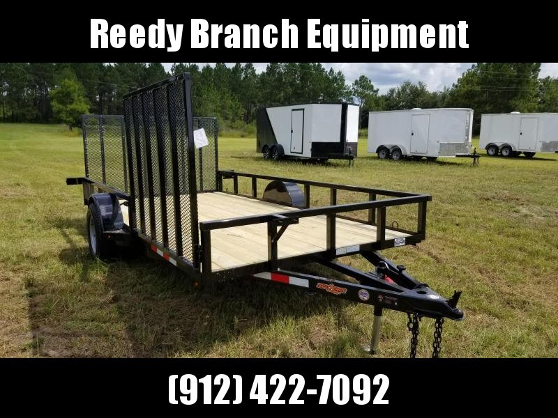2018 Down 2 Earth Trailers DTE8214UGA(SIDE GATE) Utility Trailer