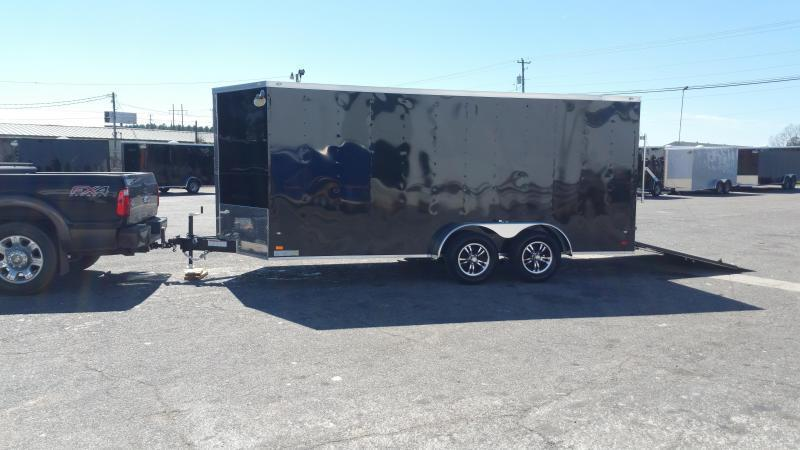 2018(OLIVE GREEN) (7000GVWR) Down 2 Earth Trailers DTE8216UT3.5B Utility Trailer