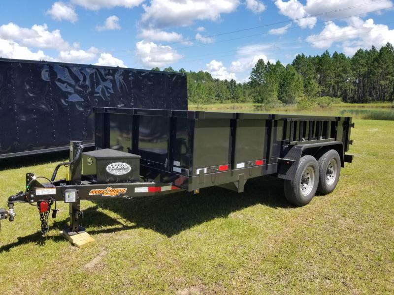 2018 Down 2 Earth Trailers DTE714DT7B(HEAVY DUTY SCISSOR LIFT)Dump Trailer