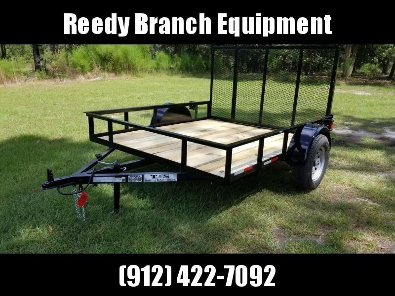 2018 Other(MOWER TRL) 6X8UT-EC-CUS Utility Trailer