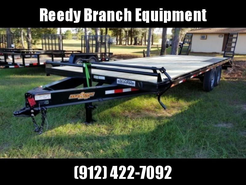 "New 102""x24' Deckover Down to Earth Equipment Trailer (14K GVWR)  in Ashburn, VA"