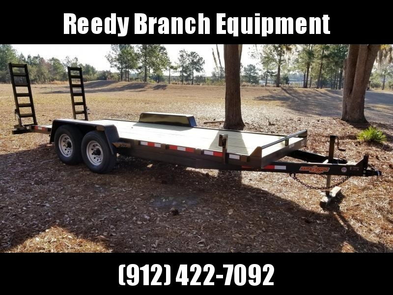 "2018 82""x20' (14K GVWR) Down 2 Earth Equipment Trailer"