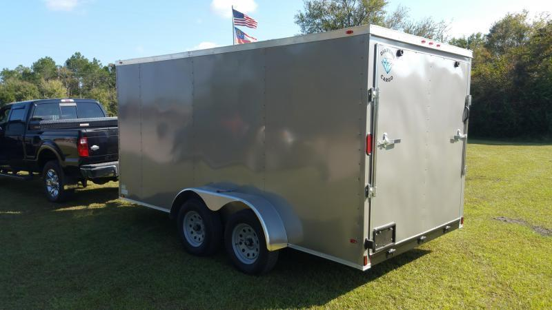 """2018 Down 2 Earth Trailers DTE8212G29(24""""MESH SIDES) DOVETAIL Utility Trailer"""