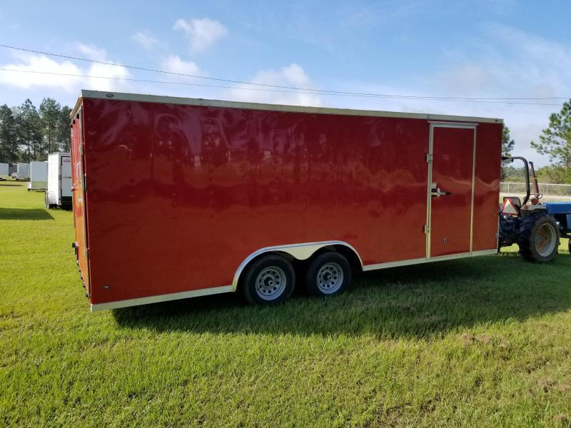 2018 Down 2 Earth Trailers DTE8234SCH7B Car / Racing Trailer