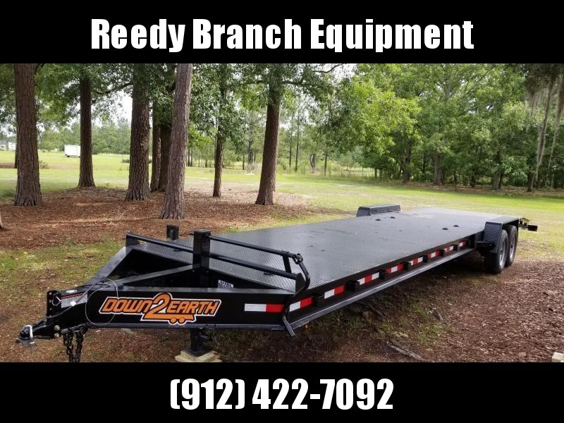 "New Down 2 Earth 82""x34' Steel Deck Car Hauler $7199"