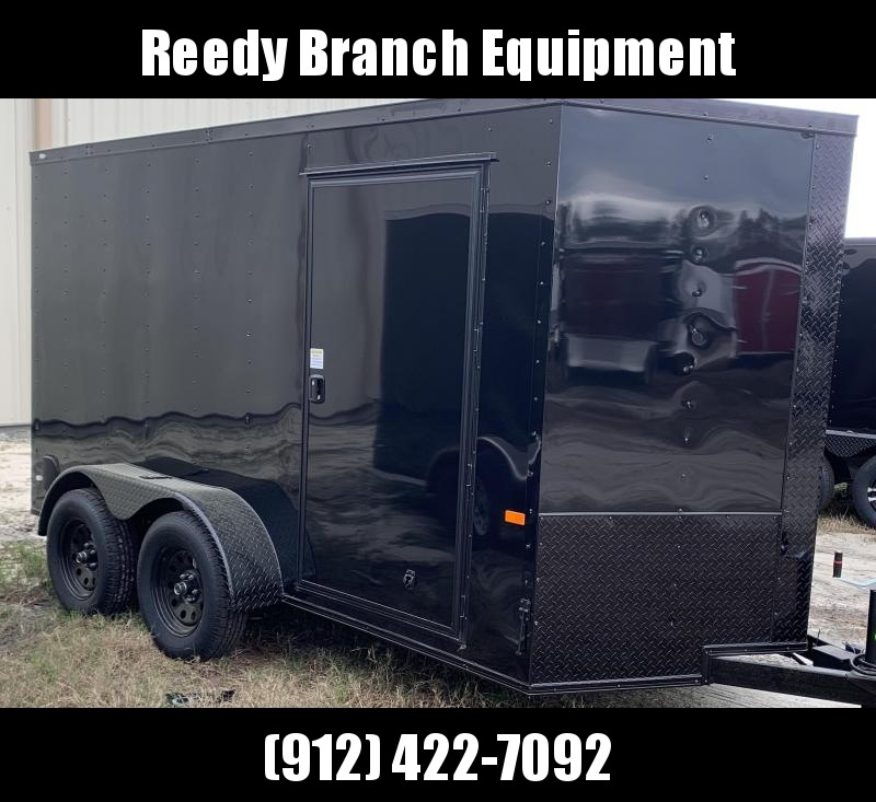 New 6x12 Blackout Package Enclosed Cargo Trailer