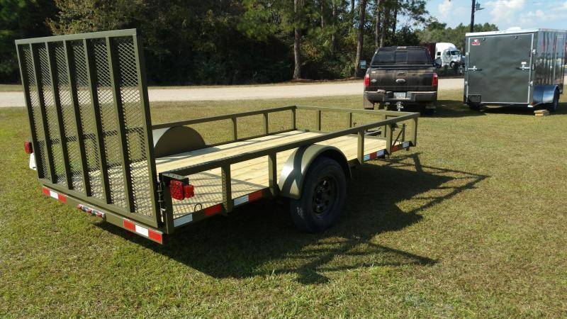 2018(24FOOT) ( Down 2 Earth Trailers (14000LB) DTE8224ER7B Equipment Trailer