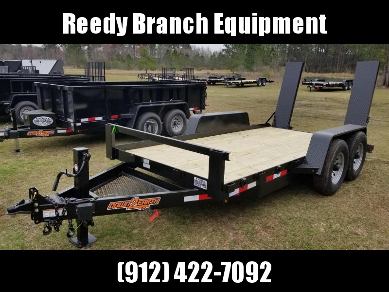 2019 Down 2 Earth Trailers DTE8014CER7B(SKID STEER/FORKLIFT) Equipment Trailer