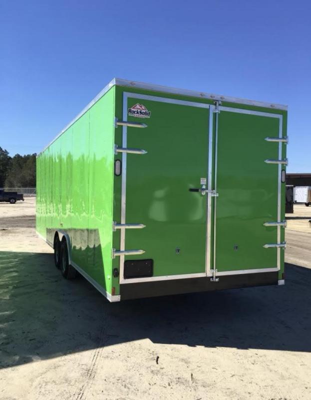 New 8.5x28-5200lb Electric Green