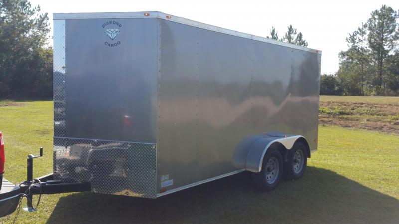 2018 ROCK SOLID CARGO TRAILER(BARN DOORS) 8.5x16  Enclosed CARGO TRAILER