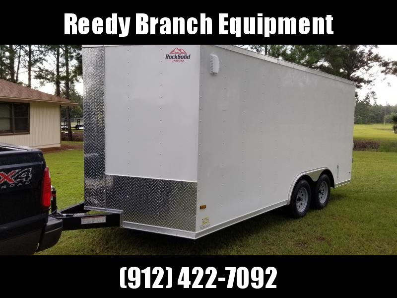 2018 ROCK SOLID CARGO TRAILER(BARN DOORS) 8.5x16  Enclosed CARGO TRAILER  in Millwood, GA
