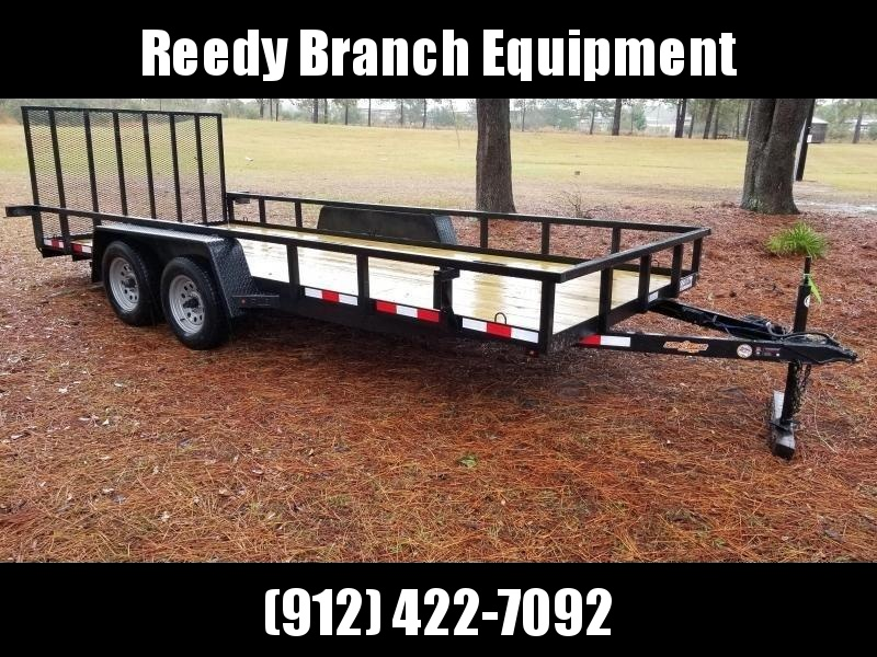 2018(TUBING RAILS) (7000GVWR) Down 2 Earth Trailers DTE8220UT3.5B Utility Trailer in Ashburn, VA