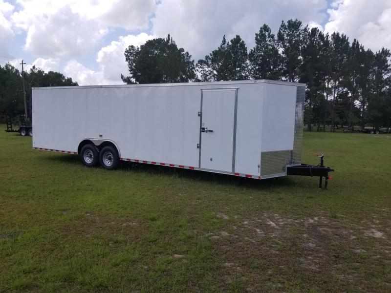 2019 ROCK SOLID CARGO(ALL SIZES)(FACTORY DIRECT PICKUP)(DOUGLAS GA) Enclosed Cargo Trailers